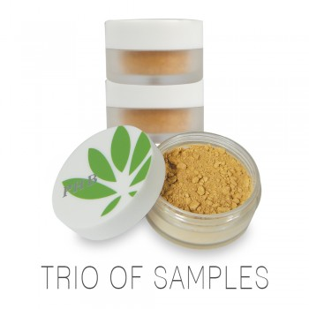 Find your perfect match! Trio of Sample Size Mini Mineral Foundations