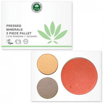 Pressed Mineral 3 Piece Palettes - available in Day / Night / Nude