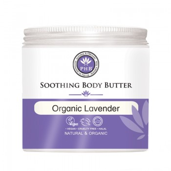 Soothing Body Butter with Organic Lavender
