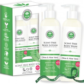 Scent Free Body Care Gift Set Duo
