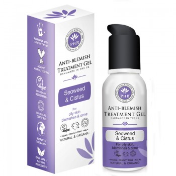Anti-Blemish Treatment Gel with Organic Seaweed & Cistus