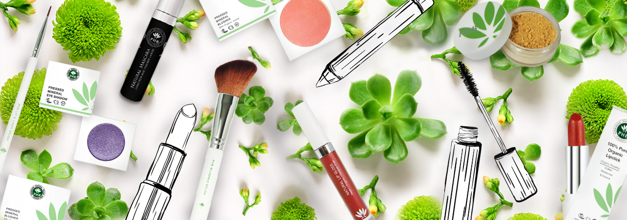 Create Your Own Skin Care & Cosmetics with PHB!